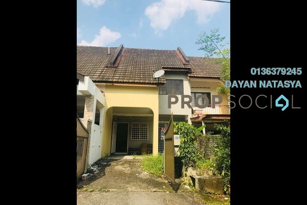 For Sale Terrace at Taman Koperasi Cuepacs, Bandar Sungai Long Freehold Semi Furnished 4R/3B 400k