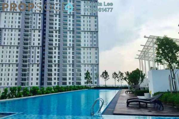 For Sale Condominium at Verdi Eco-dominiums, Cyberjaya Freehold Semi Furnished 1R/1B 320k