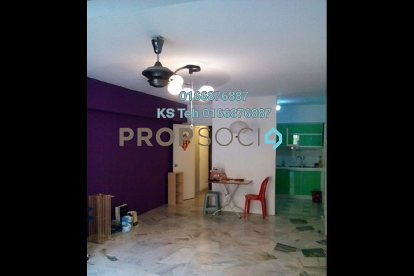 For Rent Apartment at Winner Heights, Desa Petaling Freehold Semi Furnished 3R/2B 1k