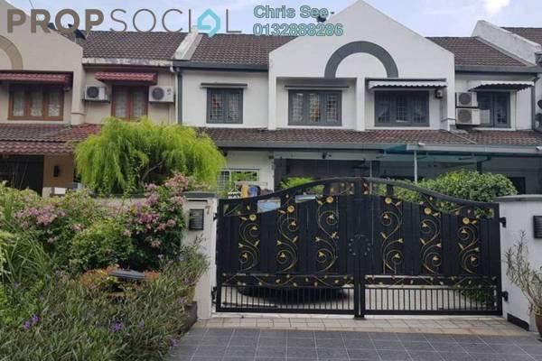 For Sale Terrace at USJ 2, UEP Subang Jaya Freehold Semi Furnished 3R/2B 818k