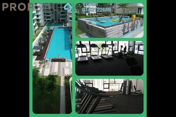 For Rent Condominium at Concerto Kiara, Dutamas Freehold Semi Furnished 3R/4B 3.8k