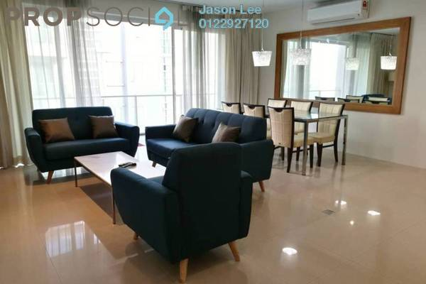 For Rent Condominium at Bintang Goldhill, KLCC Freehold Fully Furnished 3R/2B 3.5k