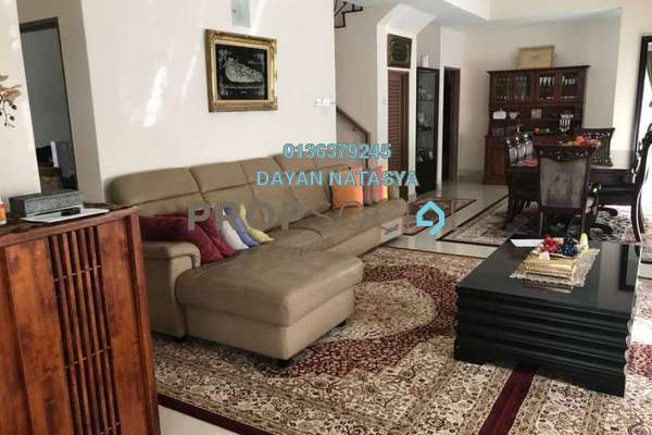 For Rent Semi-Detached at Precinct 15, Putrajaya Freehold Semi Furnished 5R/4B 3.45k