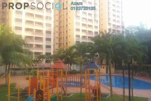 For Rent Condominium at Putra Villa, Gombak Freehold Semi Furnished 3R/2B 2k