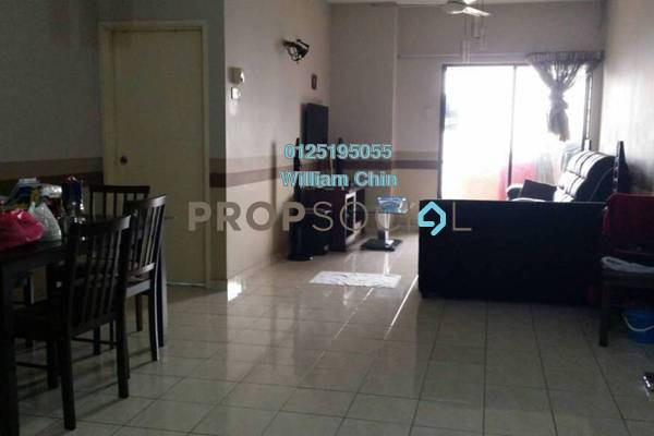 For Rent Condominium at Bougainvilla, Segambut Freehold Fully Furnished 3R/2B 1.3k