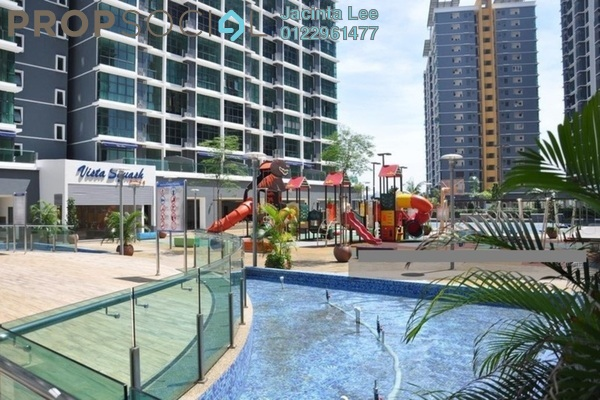 For Sale Serviced Residence at Vista Alam, Shah Alam Freehold Semi Furnished 3R/2B 567k