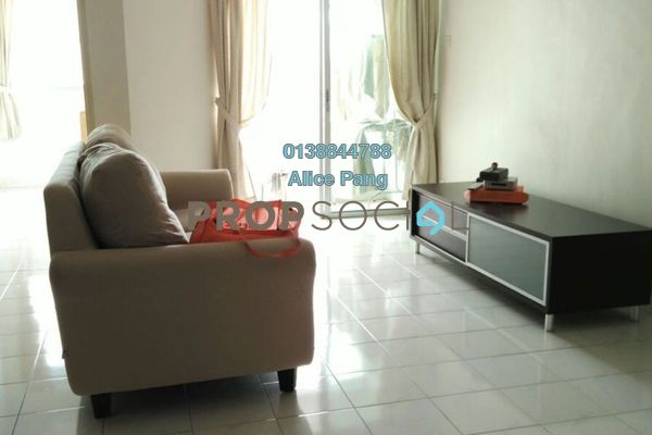 For Rent Apartment at Symphony Park, Jelutong Freehold Fully Furnished 3R/2B 1.4k