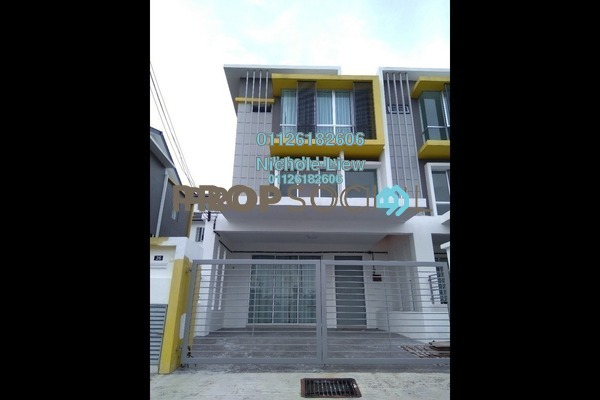 For Sale Terrace at Kaseh Heights, Semenyih Freehold Unfurnished 4R/3B 736k