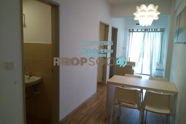For Sale Apartment at Semenyih Sentral, Semenyih Leasehold Fully Furnished 3R/2B 197k