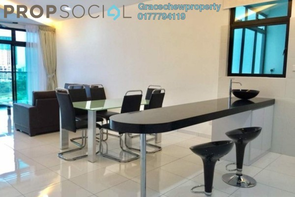 For Rent Serviced Residence at Sky Loft, Bukit Indah Freehold Fully Furnished 4R/3B 3.6k