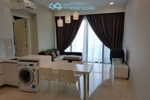 For Rent Condominium at Vogue Suites One @ KL Eco City, Mid Valley City Freehold Fully Furnished 2R/1B 3.2k