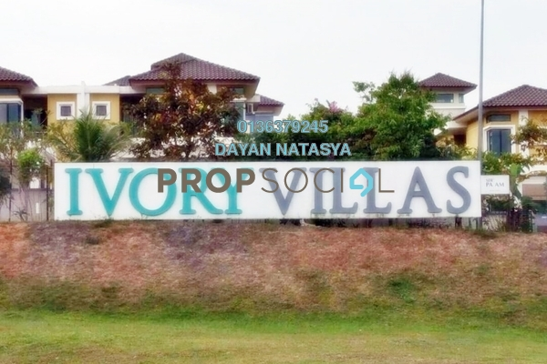 For Sale Semi-Detached at Ivory Villas, Mantin Freehold Semi Furnished 7R/7B 1.15m
