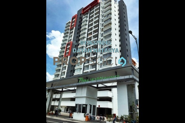 For Sale Serviced Residence at 7 Tree Seven Residence, Bandar Sungai Long Freehold Semi Furnished 3R/3B 465k