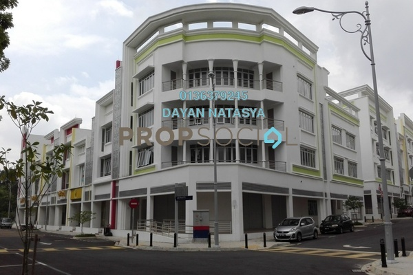 For Rent Shop at Precinct 15, Putrajaya Freehold Unfurnished 1R/2B 1.5k