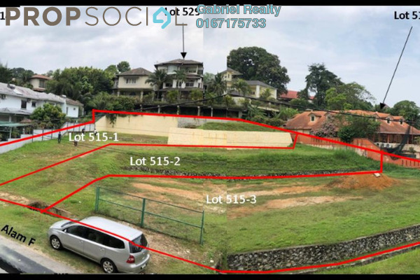For Sale Land at Country Heights Kajang, Kajang Freehold Unfurnished 0R/0B 1.17m