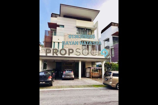 For Sale Bungalow at The Valley TTDI, Ampang Freehold Semi Furnished 8R/9B 2.7m