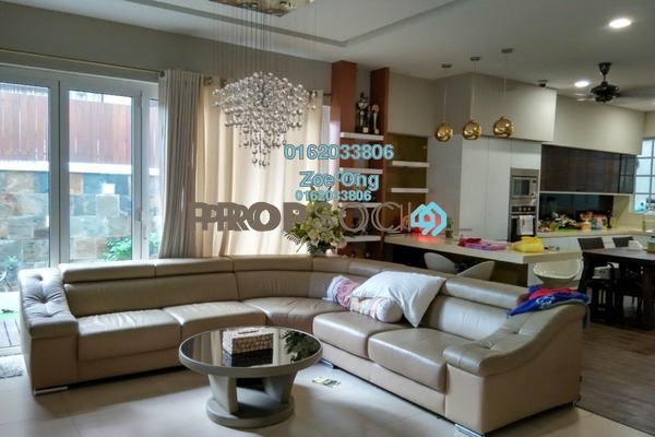 For Sale Semi-Detached at D'Kayangan, Shah Alam Freehold Semi Furnished 5R/5B 1.8m