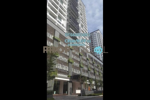 For Rent Condominium at Epic Residence, Bandar Bukit Puchong Freehold Fully Furnished 3R/2B 1.7k