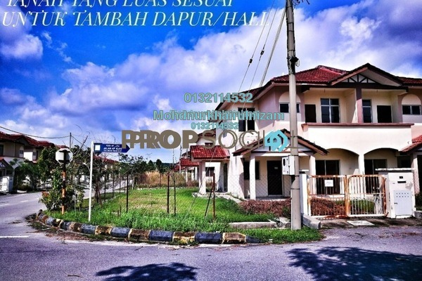 For Sale Terrace at Alam Perdana, Kuala Selangor Freehold Unfurnished 3R/2B 385k