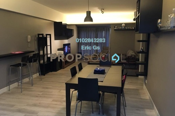 For Rent Condominium at Royalle Condominium, Segambut Freehold Fully Furnished 3R/2B 2.6千