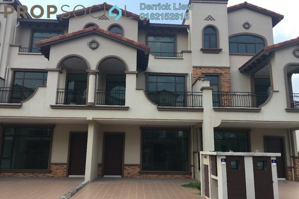 For Rent Superlink at Diamond City, Semenyih Freehold Unfurnished 4R/4B 1.2k