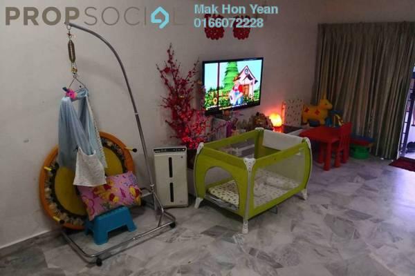 For Sale Terrace at Kenari, Bandar Puchong Jaya Freehold Semi Furnished 4R/3B 699k
