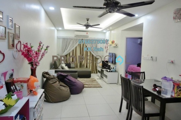 For Sale Townhouse at Cascadia Lake Vista, Puchong Freehold Fully Furnished 3R/3B 580k