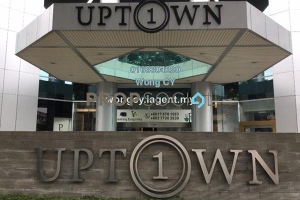 For Rent Office at Uptown 1, Damansara Utama Freehold Semi Furnished 1R/1B 22.6千