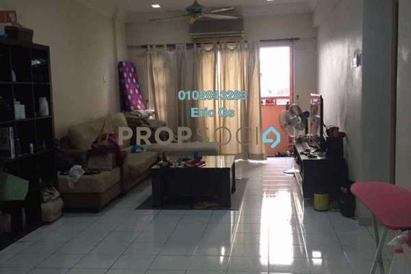 For Sale Condominium at Jalil Damai, Bukit Jalil Leasehold Semi Furnished 3R/2B 450k