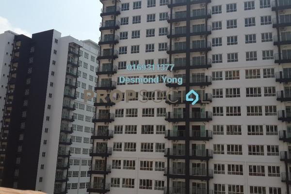 For Rent Condominium at OUG Parklane, Old Klang Road Freehold Semi Furnished 3R/2B 1.3k