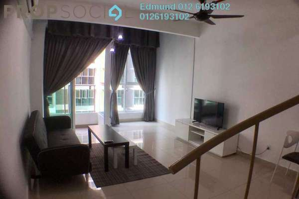 For Rent SoHo/Studio at Pacific Place, Ara Damansara Freehold Fully Furnished 0R/0B 1.9k