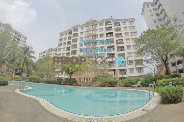For Sale Apartment at Kenanga Apartment, Pusat Bandar Puchong Freehold Semi Furnished 3R/2B 380k