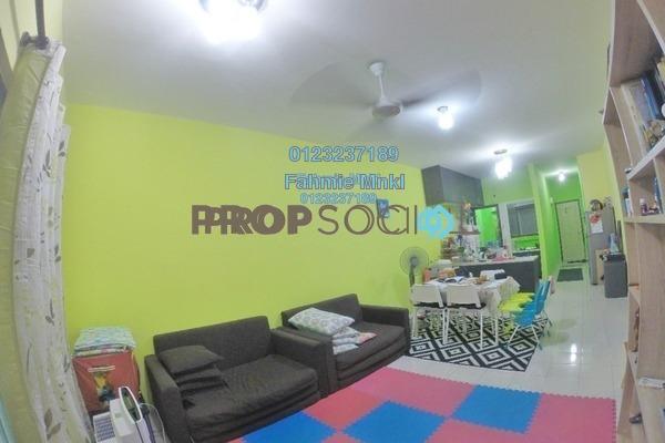 For Sale Condominium at Puri Aiyu, Shah Alam Freehold Semi Furnished 3R/2B 385k