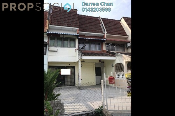 For Sale Terrace at Taman Bukit Angsana, Cheras South Freehold Unfurnished 5R/3B 590k