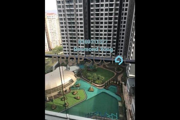 For Rent Condominium at LakePark Residence @ KL North, Selayang Freehold Semi Furnished 3R/2B 1.6k