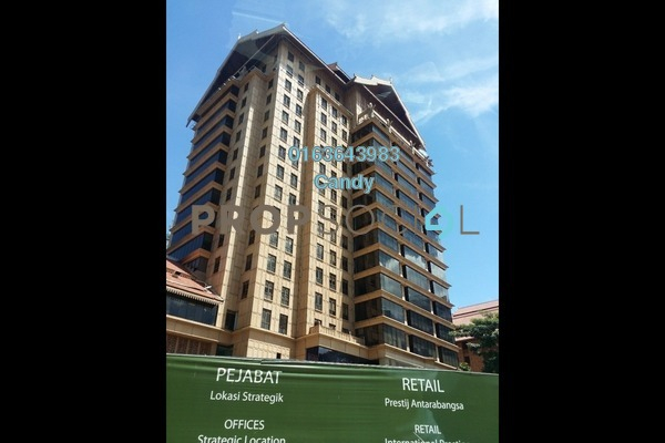 For Rent Office at Chulan Tower, KLCC Freehold Fully Furnished 0R/0B 26.8k