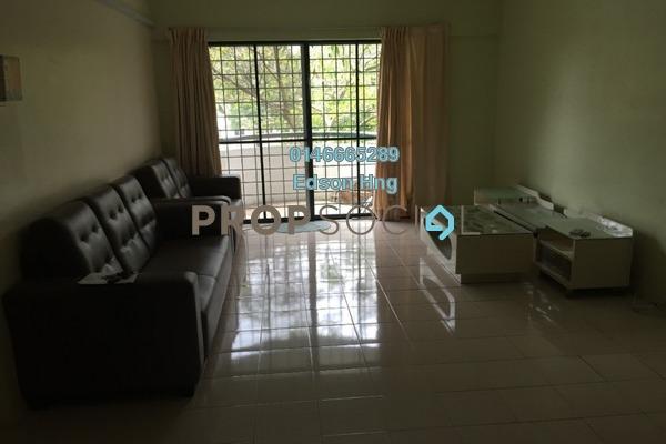 For Rent Condominium at Idaman Putera, Setapak Freehold Semi Furnished 3R/2B 1.8k