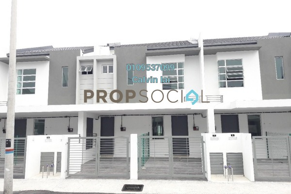 For Sale Townhouse at Kaseh Heights, Semenyih Freehold Unfurnished 3R/2B 338k