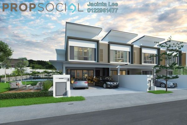 For Sale Terrace at Kajang East, Semenyih Freehold Unfurnished 4R/4B 583k