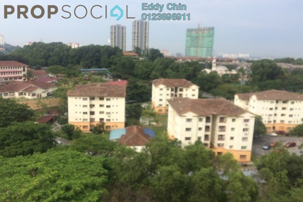 For Sale Condominium at Saraka Apartment, Pusat Bandar Puchong Freehold Semi Furnished 3R/2B 378k