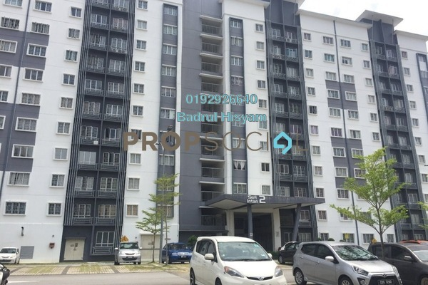 For Rent Apartment at Seri Intan Apartment, Setia Alam Freehold Unfurnished 3R/2B 950translationmissing:en.pricing.unit
