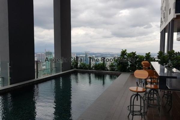 For Sale Condominium at Setia Sky 88, Johor Bahru Freehold Semi Furnished 1R/1B 600k