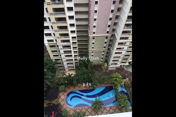 For Sale Condominium at Casa Kiara I, Mont Kiara Freehold Fully Furnished 3R/3B 730k