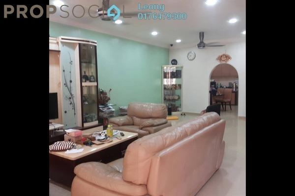 For Sale Terrace at Taman Sri Bintang, Kepong Freehold Fully Furnished 4R/4B 1.1m