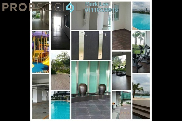 For Rent Serviced Residence at Mercury Serviced Apartment @ Sentul Village, Sentul Freehold Semi Furnished 3R/2B 1.3k