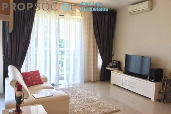 For Rent Condominium at Casa Kiara II, Mont Kiara Freehold Fully Furnished 3R/3B 3.7k