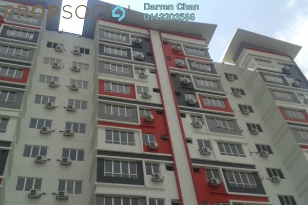 For Rent Condominium at Taman Sri Serdang, Seri Kembangan Freehold Fully Furnished 3R/2B 1.5k