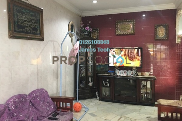 For Sale Terrace at Taman Sentosa, Klang Freehold Semi Furnished 3R/2B 300k