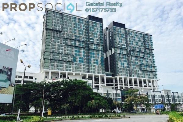 For Sale SoHo/Studio at 3Elements, Bandar Putra Permai Freehold Semi Furnished 0R/0B 250k