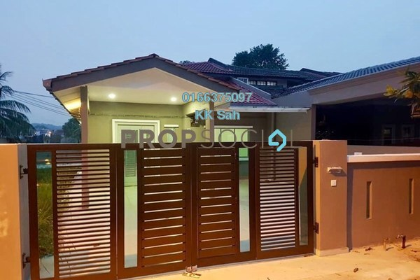 For Sale Terrace at Taman Saga, Klang Freehold Semi Furnished 4R/2B 465k